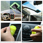 Car microfiber cleaning tool & gel compound for interiors trim windscreen wash