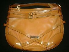 SALE 15% OFF! Burberry Brown Italian Leather Handbag with Brown Wallet
