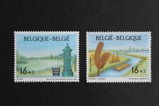 Belgium**FLAX RIVER TREATMENT-HISTORIC PUMP-2vals-1995-Vlas-Lin-Flachs