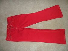 A Chip and Pepper Red Straight Jeans Size 13