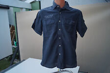 CAMP DAVID regular fit Herren Men Cargo Hemd kurzarm sportlich Gr.M marine #86
