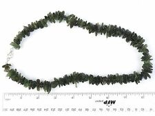 Moldavite natural necklace 50cm + CERTIFICATE 84.49grams - CERTIF077