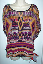 TUNIC TOP BY MIRACLE SUIT SIZE MEDIUM 2 PIECE w/BODY SHAPER NEWw/TAGS