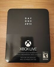 Xbox Live Day One 12 month gold subscription - brand new sealed tin
