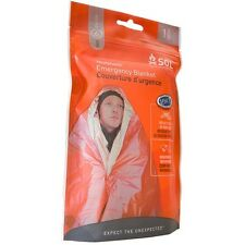 SURVIVE OUTDOORS LONGER® (SOL) Emergency Blanket (Heatsheet, Survival Kit, Abri)