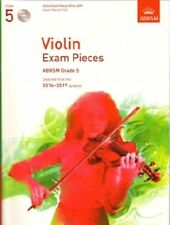 Grade 5 VIOLIN EXAM PIECES 2016-19 ABRSM Music Book violin part, piano score, CD