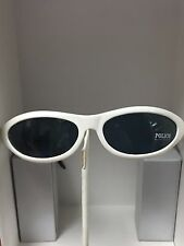 Closeout New Police Sunglasses Unisex 1245 White Made in Italy