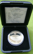 Nederland - Netherlands 10 gulden 1999. Millennium. PROOF with COA.