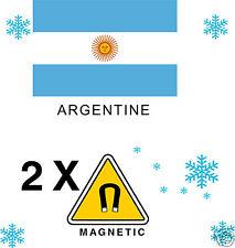 2X Fridge MAGNET Frigo AIMANT Magnétique ARGENTINE
