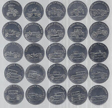 1968 Sunoco/DX Series 1 Antique Car Coin Collection, Lot of 25, 1901-1925*