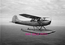"""Circa 1949 Reprint Photo of Cessna L19 With Floats Flying - Great Shot 5"""" by 7"""""""