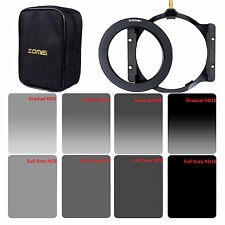 ZOMEI 150*100mm GND&ND2,4,8,16 Filter Kit+Holder+67 adapter Ring+Bag For Cokin Z