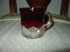 RUBY STAINED SOUVENIR CUP 1908