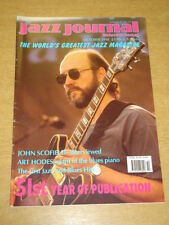 JAZZ JOURNAL INTERNATIONAL VOL 51 #10 1998 OCTOBER JOHN SCOFIELD ART HODES