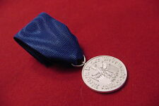 GERMAN WWII MEDAL -  WEHRMACHT  FOUR YEAR FAITHFUL SERVICE MEDAL ON RIBBON