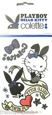 Hello Kitty 40th BD/60th Playboy TEMP TATTOOS Colette Paris New Limited