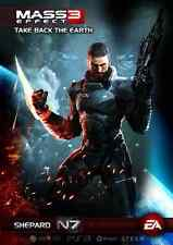 POSTER MASS EFFECT GAME SHEPARD KIRRAE MOREAU PS3 XBOX 360 2 3 N7 N 7 PC PS #11