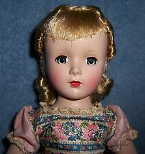 "BEAUTIFUL! Vintage 1950s Madame Alexander 14"" Little Women AMY Hard Plastic Doll"