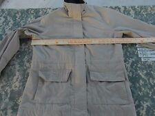 Adult Women's Pacific Trail Outdoor Wear Tan Plaid Inside Winter Jacket 31826