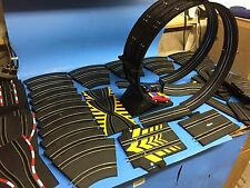 Artin Race Slot Cars Double Loop Speedway set Cars and all...