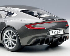 AUTOART 1/18 ASTON MARTIN ONE-77 SPIRIT GRAY 70242 LIMITED EDITION