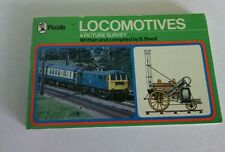 Railway Trains Steam Locomotives Diesel Engines Book Piccolo Paperback Pictures