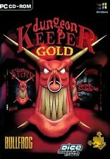 DUNGEON KEEPER GOLD  - KULT KLASSIKER - RAR!! !!! DEUTSCH beide Teile Top