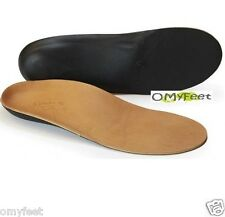 Powerstep Signature Leather Full Orthotic Insole Power Step Size Men 11 Women 13