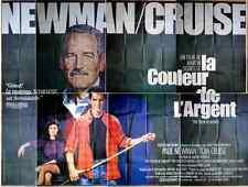 COULEUR DE L'ARGENT * Martin SCORSESE * Affiche Géante: 4 m x 3 m * 8 morceaux
