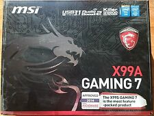 MSI Gaming Intel X99A Gaming 7 LGA 2011-3 DDR4 HDMI SATA ATX Motherboard NEW