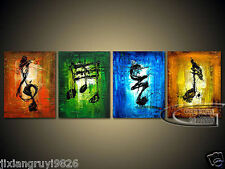 NO framed Modern Abstract Wall Decor oil painting on art canvas 026