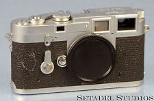 LEICA LEITZ M3 DS 1954 CHROME CAMERA SN.700355 EXTREMELY RARE FIRST BATCH