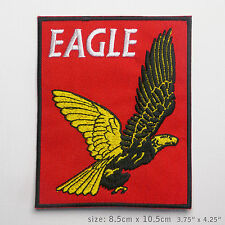 "EAGLE COMICS CLASSIC TITLE LOGO ""DAN DARE"" Large Embroidered Patch - NEW"