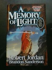 ROBERT JORDAN & B.SANDERSON-A MEMORY OF LIGHT. SIGNED(x4). LIMITED 1/1 H/B. TOR.