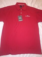 Fleetwood RV Polo Page & Tuttle Classics Red Size Large Pina Cotton NWT 50$
