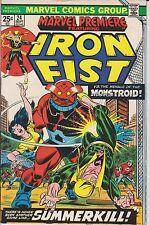 Marvel Comics! Marvel Premiere! Iron Fist! Issue 24!