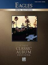 Eagles -- Hotel California: Piano/Vocal/Chords Alfred's Classic Album Editions