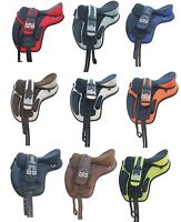 "All Purpose Synthetic Treeless 16"" 17"" 18"" size Freemax Saddles 40% Discount sut"