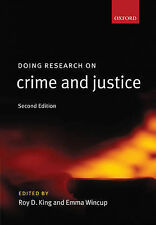 Doing Research on Crime and Justice by Oxford University Press (Paperback, 2007)
