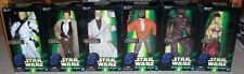 All 6 Star Wars 12 inch POTF 1:6 scale figures: Leia Slave,Luke Storm,Ponda Baba