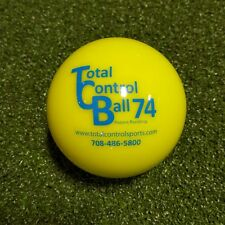 Total Control Ball 74 Weighted Training Baseball Hitting/Batting Aid TCB74, 1 DZ