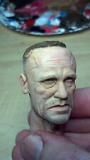 custom painted walking dead merle dixon head for 12 inch body