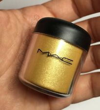 RARE LE MAC Pigment *Golden Lemon* Discontinued Gold Yellow Eyeshadow AUTHENTIC