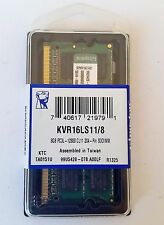 Genuine Kingston 8GB 2Rx8 PC3L 1600MHz 12800s CL11 Memory RAM Toshiba Acer HP