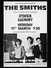 """The Smiths Ipswich Gaumont 16"""" x 12"""" Photo Repro Concert Poster"""