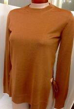 Louis Vuitton Sweater Brown Cashmere Blend Long sleeve NWT SIZE Xs