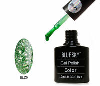 Bluesky Emerald Green Blz 9 UV LED Gel Soak Off Nail Polish 10ml
