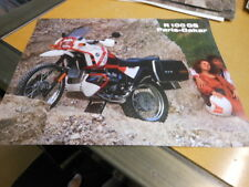NOS NEW Vintage Brochure BMW R100 GS PD R100GS Paris-Dakar