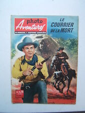 PHOTO AVENTURES /  NUMEROS 1  / LE COURIER DE LA MORT / 1960