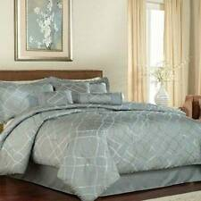 Pem America Celina 7 Piece King Bed In A Bag Bedding NEW Blue